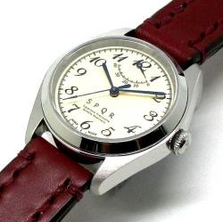 時とともに価値が増し、世代から世代へと引き継がれる本物で上質な高級腕時計です。 【ふるさと納税】025-013 SPQR Ventuno pr-nc(アイボリー)