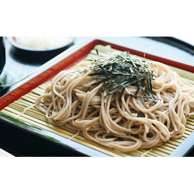 【ふるさと納税】浅嶽玄蕎麦(あさまのくろそば) 【麺類/そば・ソバ】