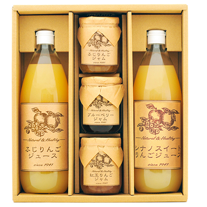 【ふるさと納税】りんごジュース・ジャム詰合せ 【果実飲料・林檎・リンゴ・アップル・セット】