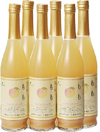 【ふるさと納税】ツルヤプレミアム 贅沢搾りジュース「信州もも」 【果実飲料・桃】