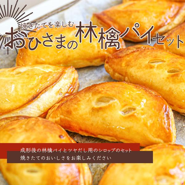 【ふるさと納税】焼きたてを楽しむ おひさまの林檎パイセット