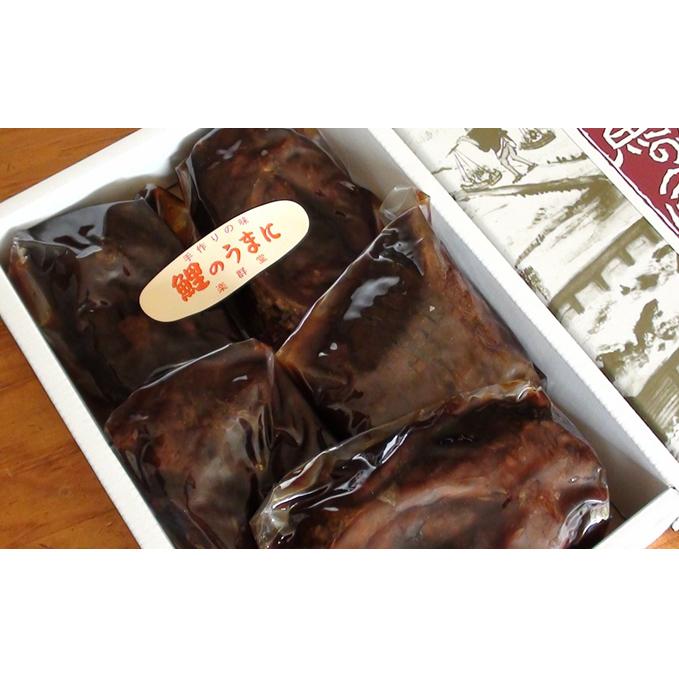 【ふるさと納税】鯉のうま煮(5切れ入り)ご飯のお供 おかず つまみ 酒の肴 ご当地 グルメ お取り寄せ 【魚貝・加工品】