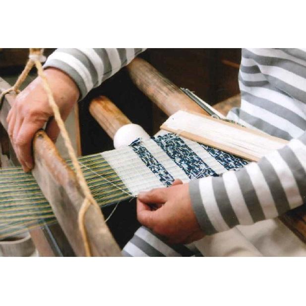 【ふるさと納税】信州伝統工芸 はた織り体験1名分【藍染ペアコースターを織ってみよう】 【コースター・体験チケット】