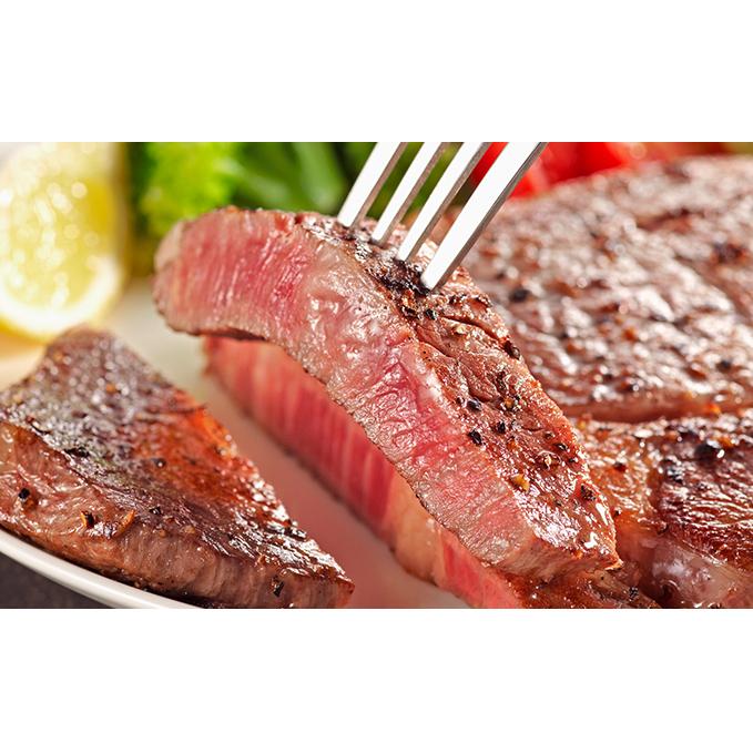 【ふるさと納税】信濃美味牛『贅沢カット!リブロース芯ステーキカット』200g 【お肉・牛肉・ロース】 お届け:2019年12月19日から順次発送