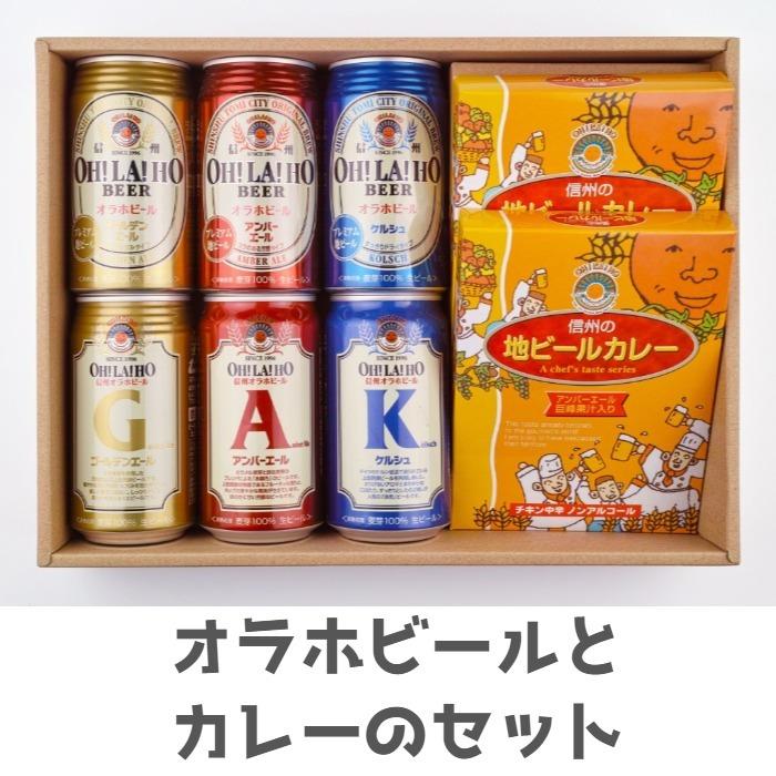 【ふるさと納税】オラホビールとカレーのセット