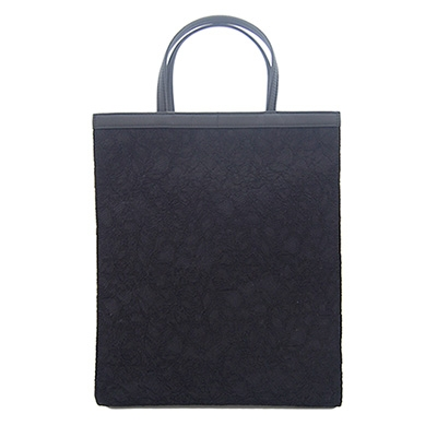 【ふるさと納税】濱野皮革工藝  フォーマルトートトール (ブラック)【1065399】