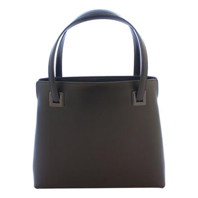 【ふるさと納税】濱野皮革工藝フォーマルレゾンハンドバッグ(ブラック金具)【1103236】