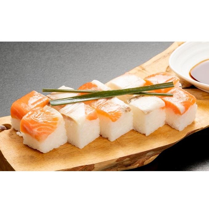 【魚貝類・加工食品・加工品・惣菜・冷凍】 【ふるさと納税】信濃おしずし(3個入れ)