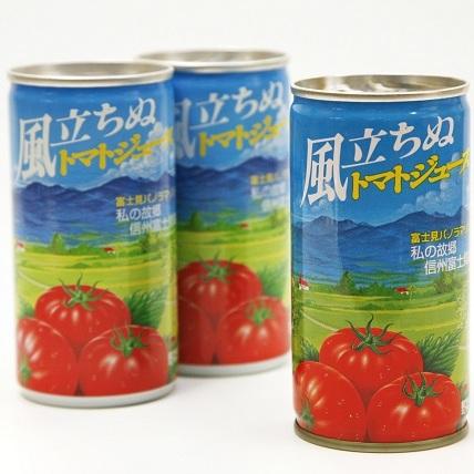 【ふるさと納税】信州 富士見パノラマリゾート オリジナルトマトジュース「風たちぬ」30本 【果実飲料・ジュース】