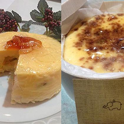 【ふるさと納税】長野チーズケーキ・市田柿チーズケーキセット 【お菓子・チーズケーキ】