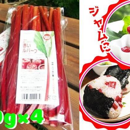 【ふるさと納税】富士見町の赤いルバーブ約2kg(500g×4袋) 【野菜】 お届け:2020年9月初旬~10月下旬