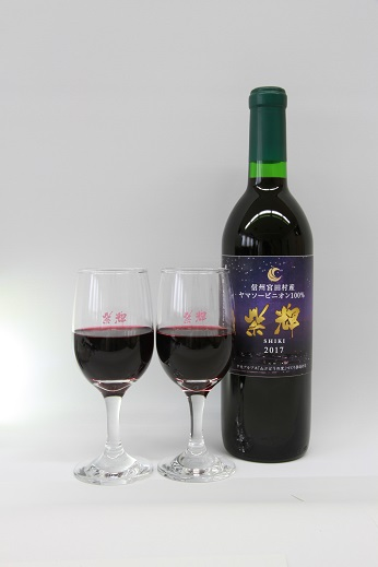 【ふるさと納税】山ぶどうワイン2018「紫輝」10本