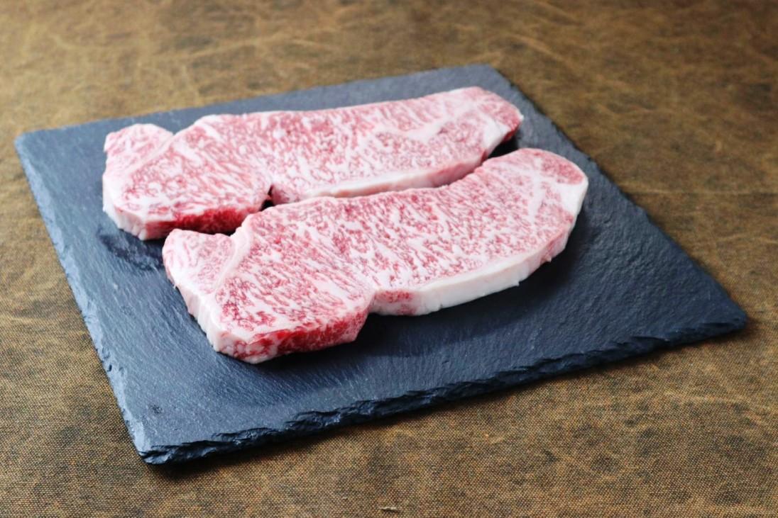 【ふるさと納税】最高級黒毛和牛 信州平谷牛サーロインステーキ 2枚入り(1枚 250g)