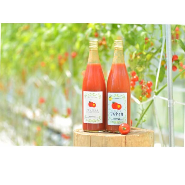 【ふるさと納税】無添加トマトジュース飲み比べセット(大ビン)