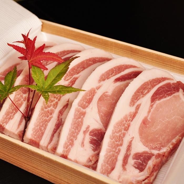 ふるさと納税 信美豚 トラスト 2020春夏新作 豚肉ロース約150g×5枚