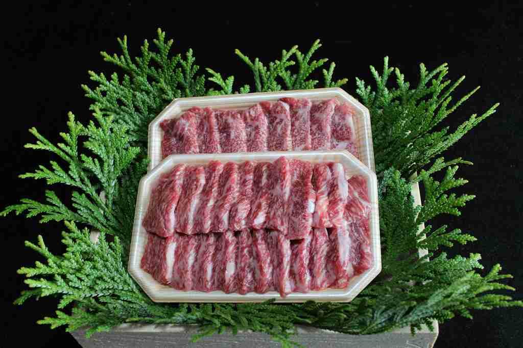 【ふるさと納税 長野】麻績産極上黒毛和牛リブロース焼肉200g×2パック