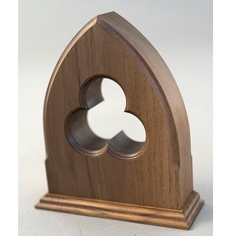 【ふるさと納税】木製ブックエンド(ゴシック) 【雑貨・日用品/文房具】