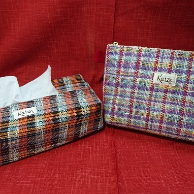 【ふるさと納税】真心こめてトントン♪手織り製品2品セット 【福祉用品】