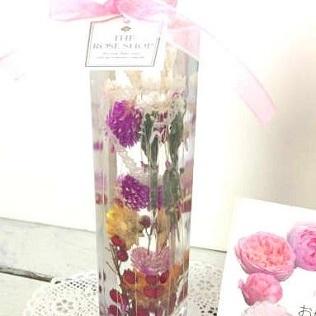【ふるさと納税】優しいお花のハーバリウム メロディ 【インテリア・植物】
