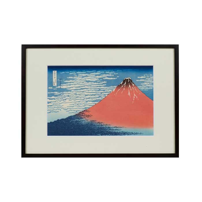直営限定アウトレット ふるさと納税 葛飾北斎 富嶽三十六景 赤富士 凱風快晴 購入 版画