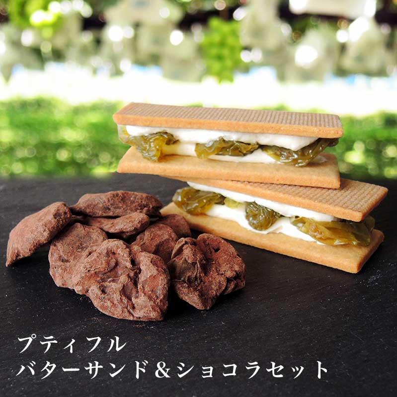 【ふるさと納税】プティフル バターサンド&ショコラセット