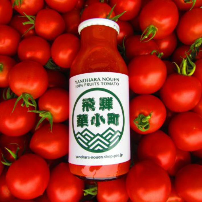【ふるさと納税】糖度9度以上·超濃厚·完熟フルーツトマトジュース 180ml×30本セット 2箱 e502