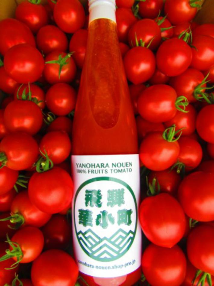 【ふるさと納税】糖度9度以上・超濃厚・完熟フルーツトマトジュース 1000ml×12本セット 2箱 f501