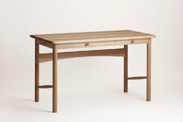 【ふるさと納税】【オークヴィレッジ】kabanoデスク 〔国産材 木製家具〕 g124