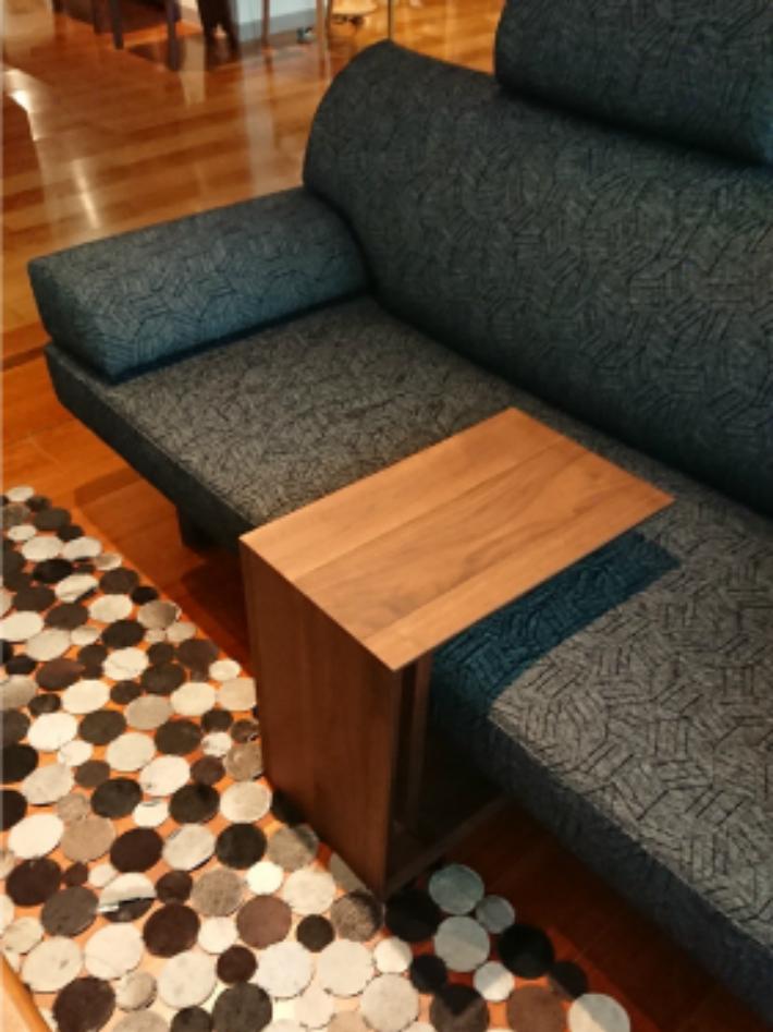 【ふるさと納税】Shirakawa サイドテーブル f162
