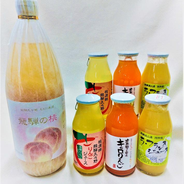 【ふるさと納税】飛騨高山フルーツジュースセレクション a538