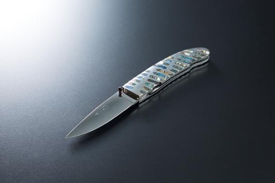 【ふるさと納税】SP250-02 高級カスタムナイフ【アトランタレディ】