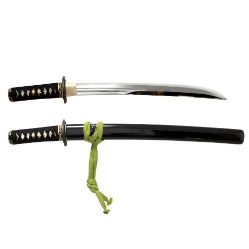 【ふるさと納税】H84-01 模擬刀 鵜首造り 小刀拵 鯰尾藤四郎写し