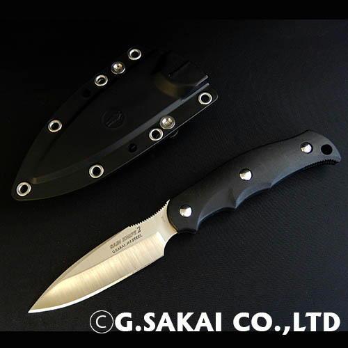 【ふるさと納税】H30-30 サビナイフ2(サバキ3寸) ブラック