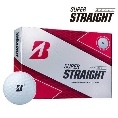 【ふるさと納税】SUPER STRAIGHT ゴルフボール ホワイト 3ダース T30-01