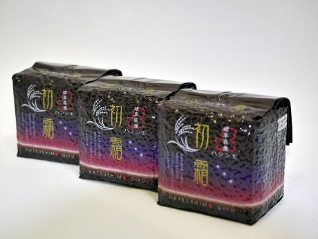 【ふるさと納税】岐阜県初霜 キューブ米 300グラム×20個(6キログラム)