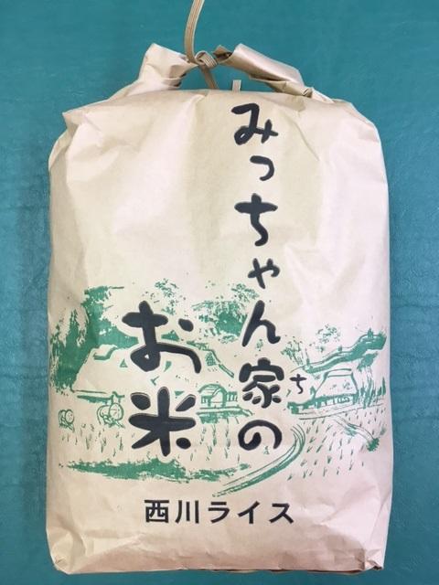 冷めてもおいしい ハツシモ 大粒!! 【ふるさと納税】ハツシモ(白米) 30kg(みっちゃん家のお米)