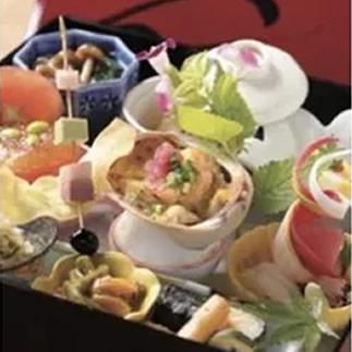 【ふるさと納税】日本料理「たくあん」松花堂弁当お食事券(2名様分)