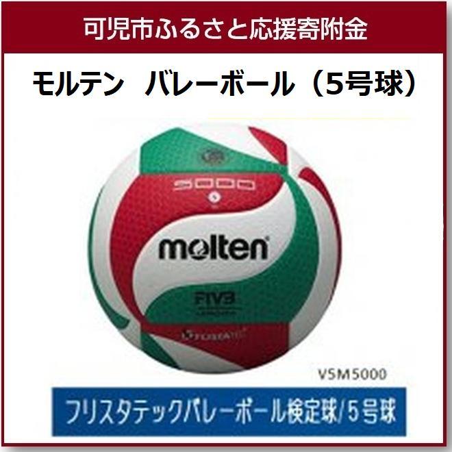 【ふるさと納税】モルテン バレーボール 5号球