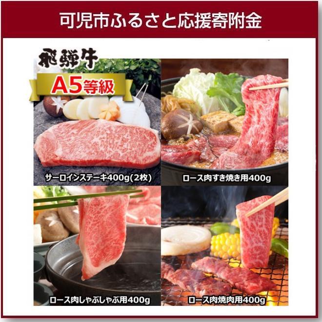 【ふるさと納税】A5等級 プレミアム飛騨牛贅沢食べ比べセット