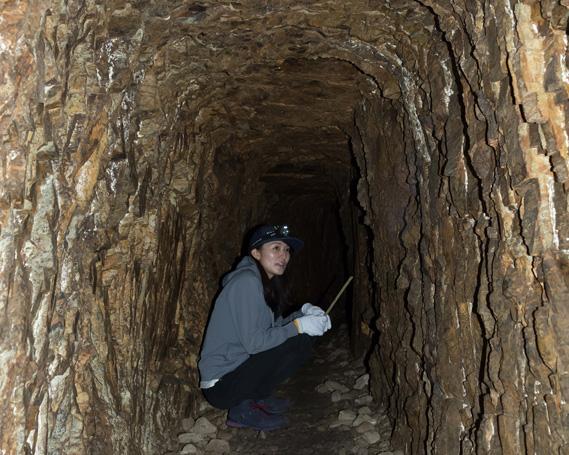 【ふるさと納税】No.063 マンガン鉱床の洞窟探検ツアー(4名様ご招待) 体験チケット
