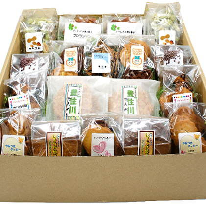 【ふるさと納税】とよずみ かきりんスイーツファクトリー 18個セット 【お菓子・チョコレート・焼き菓子】