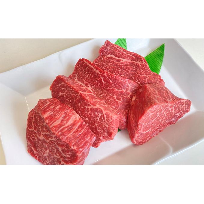 【ふるさと納税】飛騨牛赤身ステーキ(5人前) 【モモ・お肉・牛肉・ステーキ】