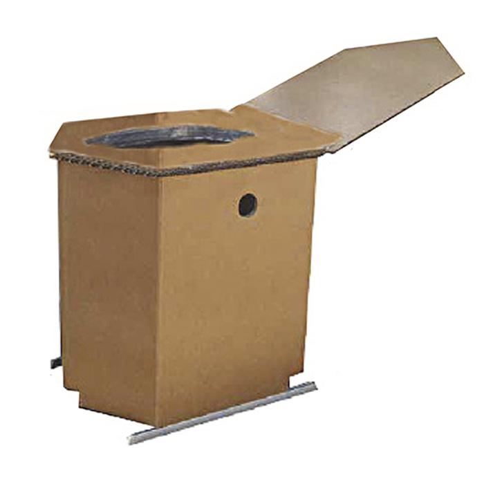 【ふるさと納税】緊急対応災害トイレ(ダントイレ)基本セット 凝固剤約100回分付き 【防災グッズ・防災用品】