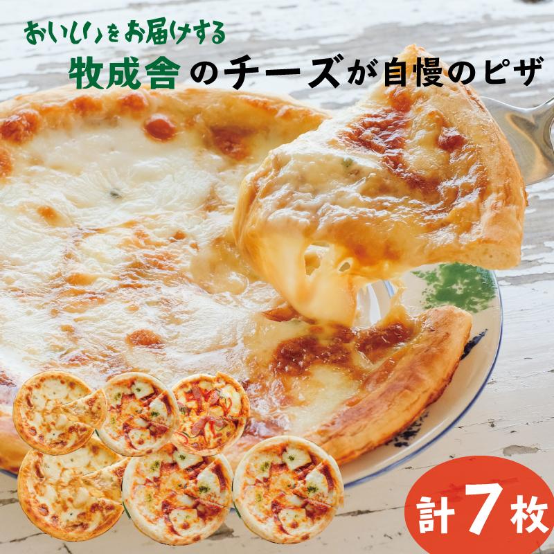 【ふるさと納税】<牧成舎・ふるさと納税限定>飛騨のチーズたっぷりピザ贅沢セット[C0002]