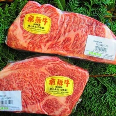 【ふるさと納税】飛騨市推奨特産品 飛騨牛5等級のサーロインとリブロイン[K0014]