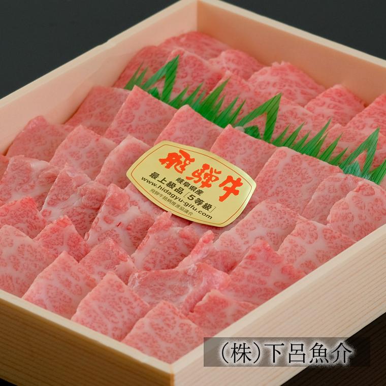 【ふるさと納税 】【最高級】飛騨牛A5ランク 霜降り焼肉 1200g