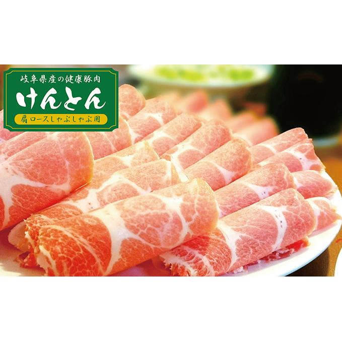 岐阜県関ケ原町 ふるさと納税 飛騨 美濃けんとん けんとん豚肩ロースしゃぶしゃぶ用計1kg 高価値 商品追加値下げ在庫復活 お肉 豚肉