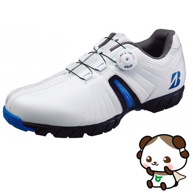【ふるさと納税】ブリヂストンゴルフシューズ SHG750【ホワイト・ブルー】