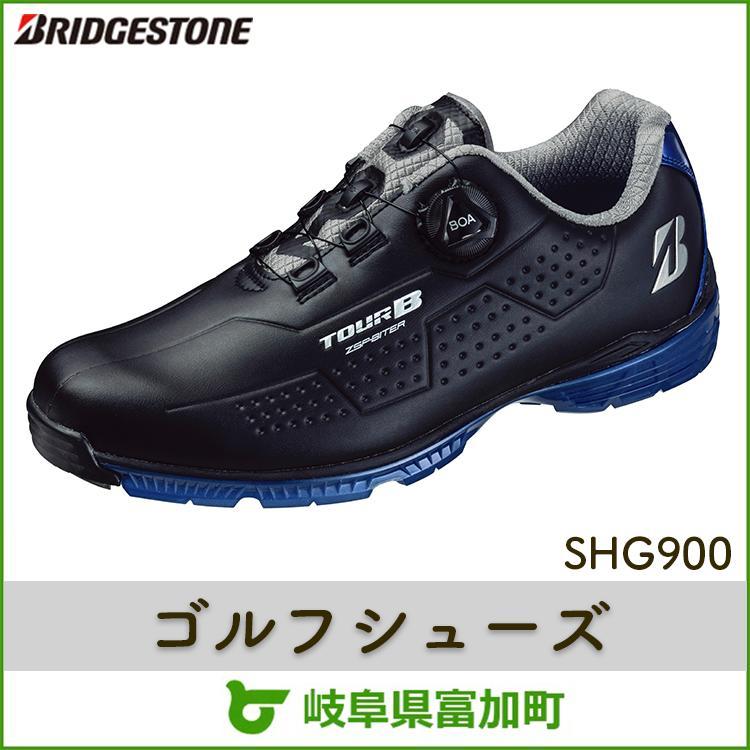 【ふるさと納税】ブリヂストンゴルフシューズ SHG900【ブラック×ブルー】
