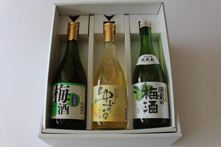 【ふるさと納税】ゆず・梅酒3本セット